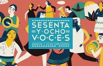 """Conoce la serie de cuentos indígenas """"68 voces, 68 corazones""""."""