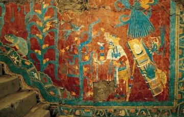 Murales de Cacaxtla.
