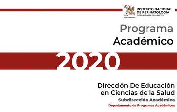 Programa Académico 2020