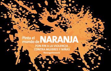 Pinta el mundo de Naranja, pon fin a la violencia contra las mujeres y niñas