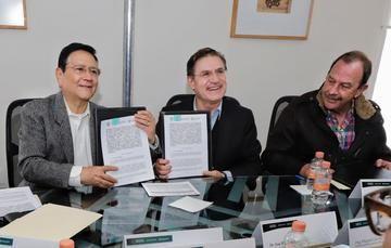 Acuerdan Segalmex y Gobierno de Durango construcción de planta lechera en Gómez Palacio