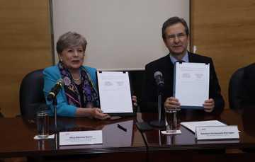 Boletín No. 9 Firman SEP y CEPAL convenio de colaboración para contribuir con los objetivos para el desarrollo sostenible