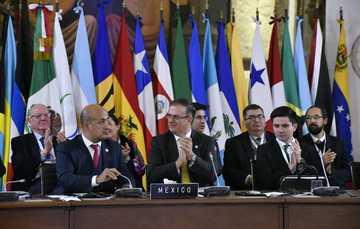 El canciller Ebrard presenta plan de trabajo de la Presidencia pro tempore de México en la Celac
