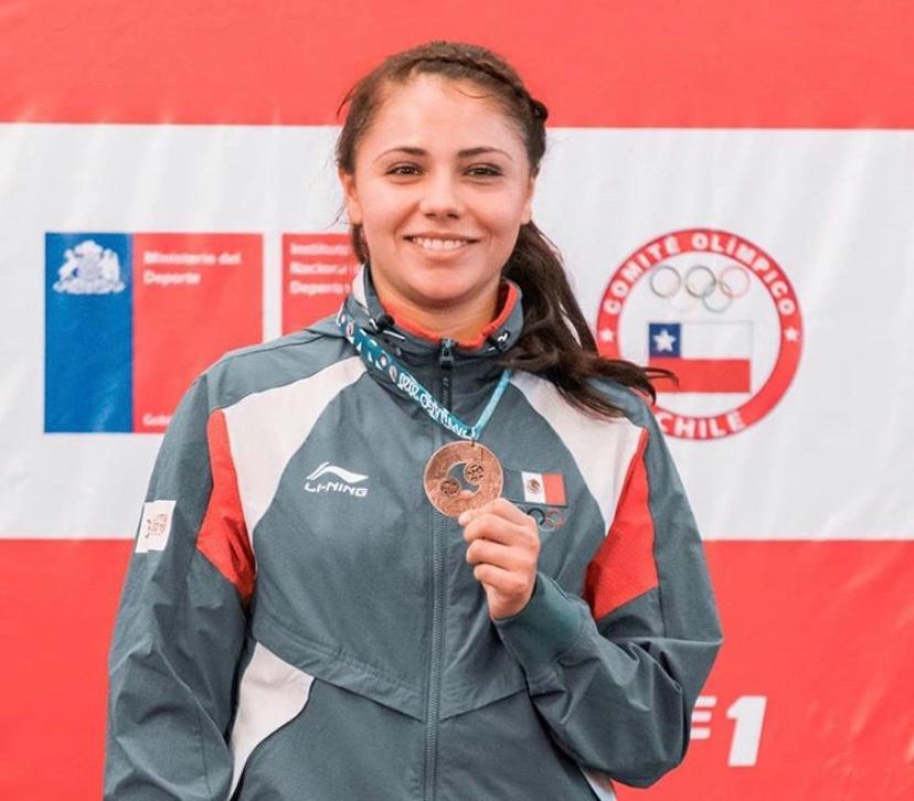 En el combate por el tercer lugar, Sachiko Paulina Ramos venció 3-2 a la representante de España. Conade.