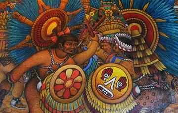 Murales del Palacio de Gobierno de Tlaxcala