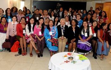 Encuentro de Mujeres Indígenas Defensoras de Derechos Humanos para la Erradicación de la Violencia contra las Mujeres