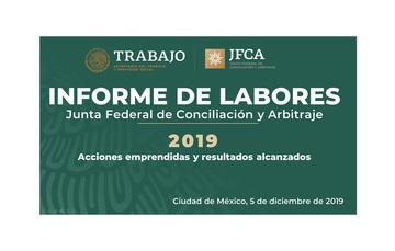 Informe de Labores 2019
