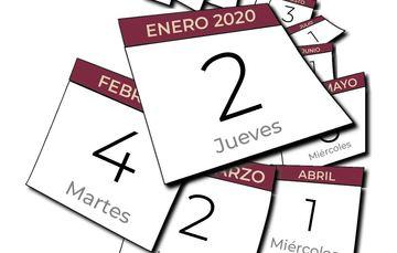 Calendario de Labores 2020