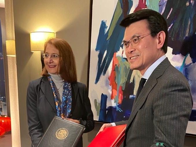 Firman México y Hong Kong acuerdo para promover y proteger inversiones
