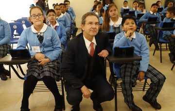 Boletín No. 25 Se alinea Nueva Escuela Mexicana con los objetivos del Día Internacional de la Educación: Esteban Moctezuma Barragán