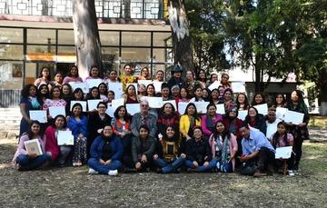 Clausura del X Diplomado Intercultural para Fortalecer el Liderazgo de Mujeres Indígenas y Afrodescendientes
