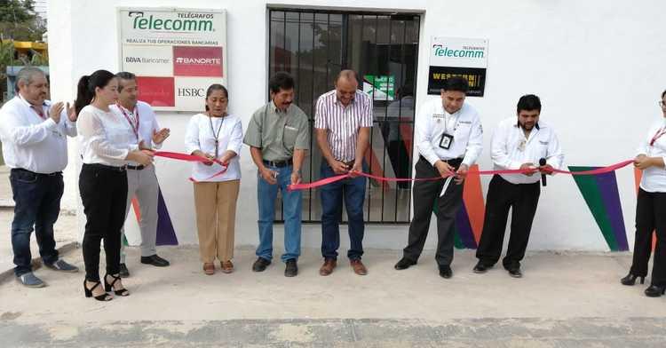 Telecomm Inaugura Nueva Sucursal en Chiná, Campeche