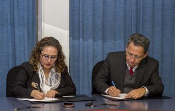 Firman convenio de colaboración IMP y Red OTT