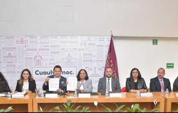 La titular de la PFPNNA, Martha Yolanda López Bravo, precisó que el convenio abarca siete ejes de actuación.