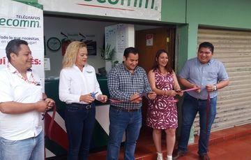 Telecomm atiende a 27 municipios de los 106 con los que cuenta el estado de Yucatán.