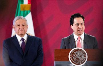 El Director General de Banobras, Jorge Mendoza Sánchez, informó que en las próximas semanas se trabajará para saldar el contrato de arrendamiento financiero del avión presidencial
