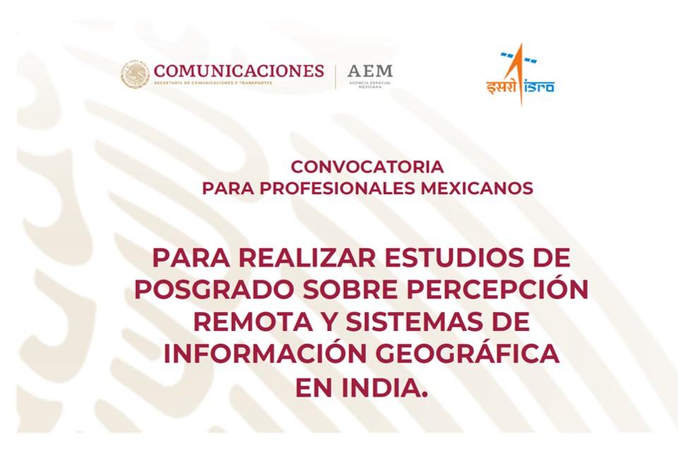 Convocatoria para Curso de Posgrado en Percepción Remota y Sistemas de Información Geográfica en India