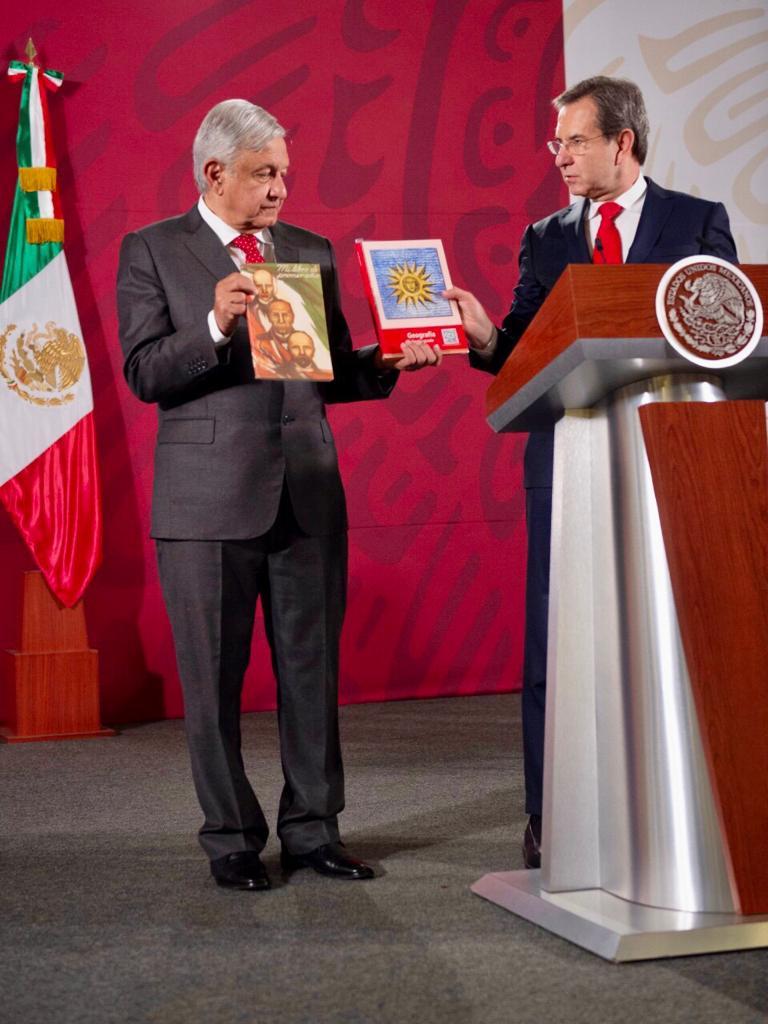 Libros de Texto Gratuito publicaciones insignia en materia de educación pública: Moctezuma Barragán