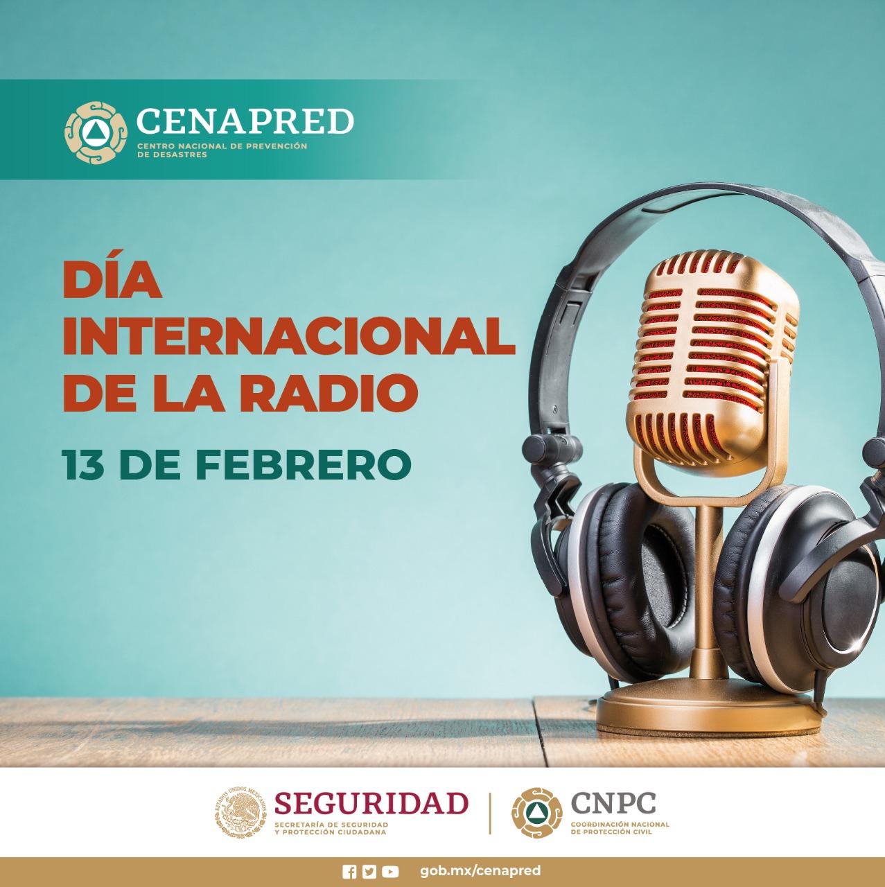 Día Mundial de la Radio Cenapred