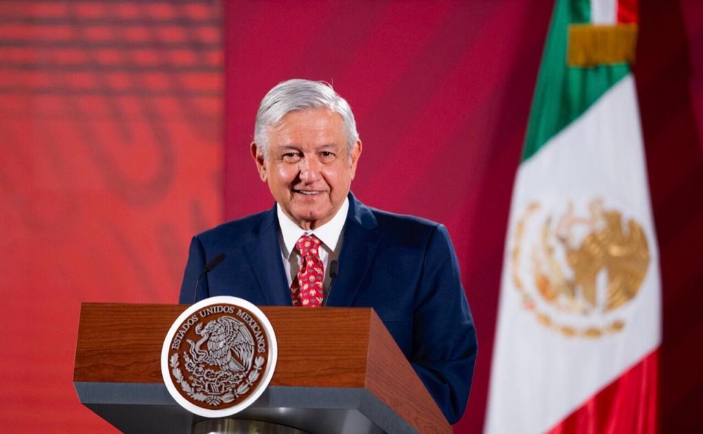 Presidente Andrés Manuel López Obrador desde Palacio Nacional