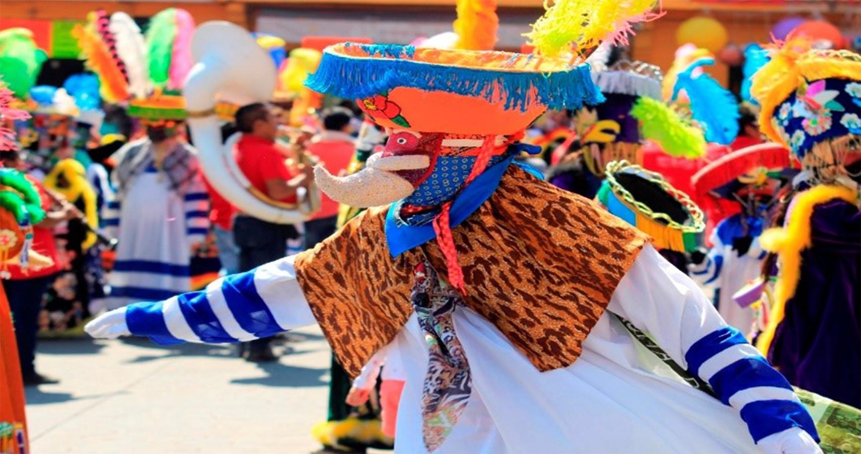 Llegó el carnaval a Tlayacapan | Secretaría de Comunicaciones y Transportes  | Gobierno | gob.mx