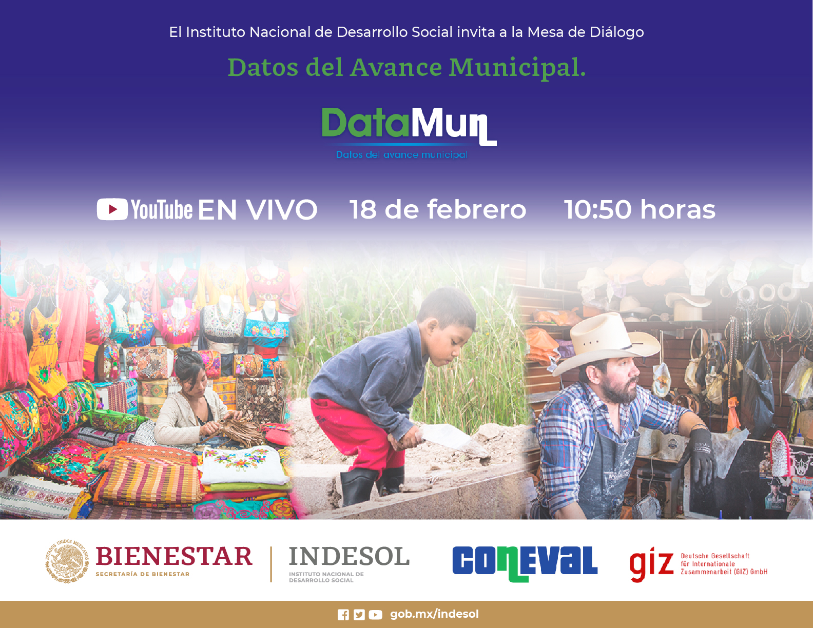 "Mesa de Diálogo ""Datos del Avance Municipal"""
