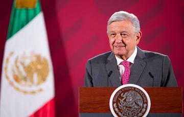 Presidente Andrés Manuel López Obrador, desde Palacio Nacional