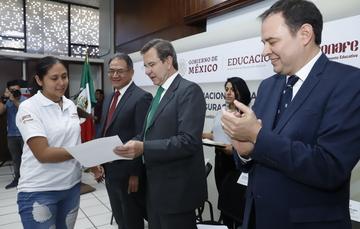 Boletín No. 48 Certificación de conocimientos, proceso fundamental para el desarrollo de las personas: Esteban Moctezuma Barragán