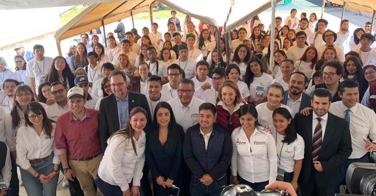 Jóvenes brigadistas del programa del Imjuve presentaron sus experiencias y resultados como aprendices de Jóvenes Construyendo el Futuro