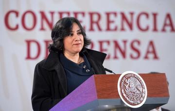 Irma Eréndira Sandoval Ballesteros, secretaria de la Función Pública