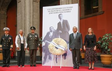 Versión estenográfica. CVII Aniversario Luctuoso de Francisco I. Madero y José María Pino Suárez