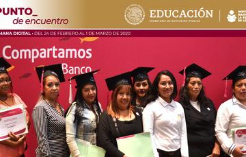 Reciben certificado beneficiarios de INEA - COMPARTAMOS BANCO - CRECER MÉXICO