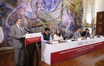Realiza SEP mesas de diálogo sobre la formación socioemocional de jóvenes de educación media superior