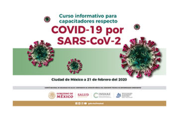 Curso Informativo para capacitadores respecto COVID-19 por SARS-CoV-2