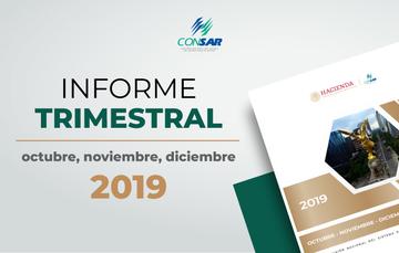 4o. Informe trimestral de 2019 octubre-diciembre
