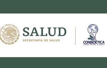 Logotipo de la Secreataría de Salud y Conbioética.