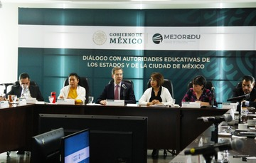 La coordinación con las autoridades educativas del país es fundamental para mejorar la educación básica y media superior: MEJOREDU