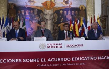 Fundamental que los ambientes escolares sean seguros, inclusivos y libres de violencia: Esteban Moctezuma Barragán