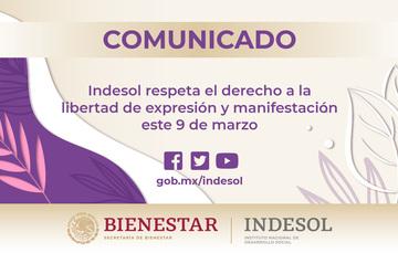 COMUNICADO INDESOL