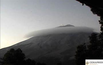 En las últimas 24 horas, mediante los sistemas de monitoreo del volcán Popocatépetl se identificaron 163 exhalaciones acompañadas de vapor de agua, gases volcánicos y ligeras cantidades de ceniza.