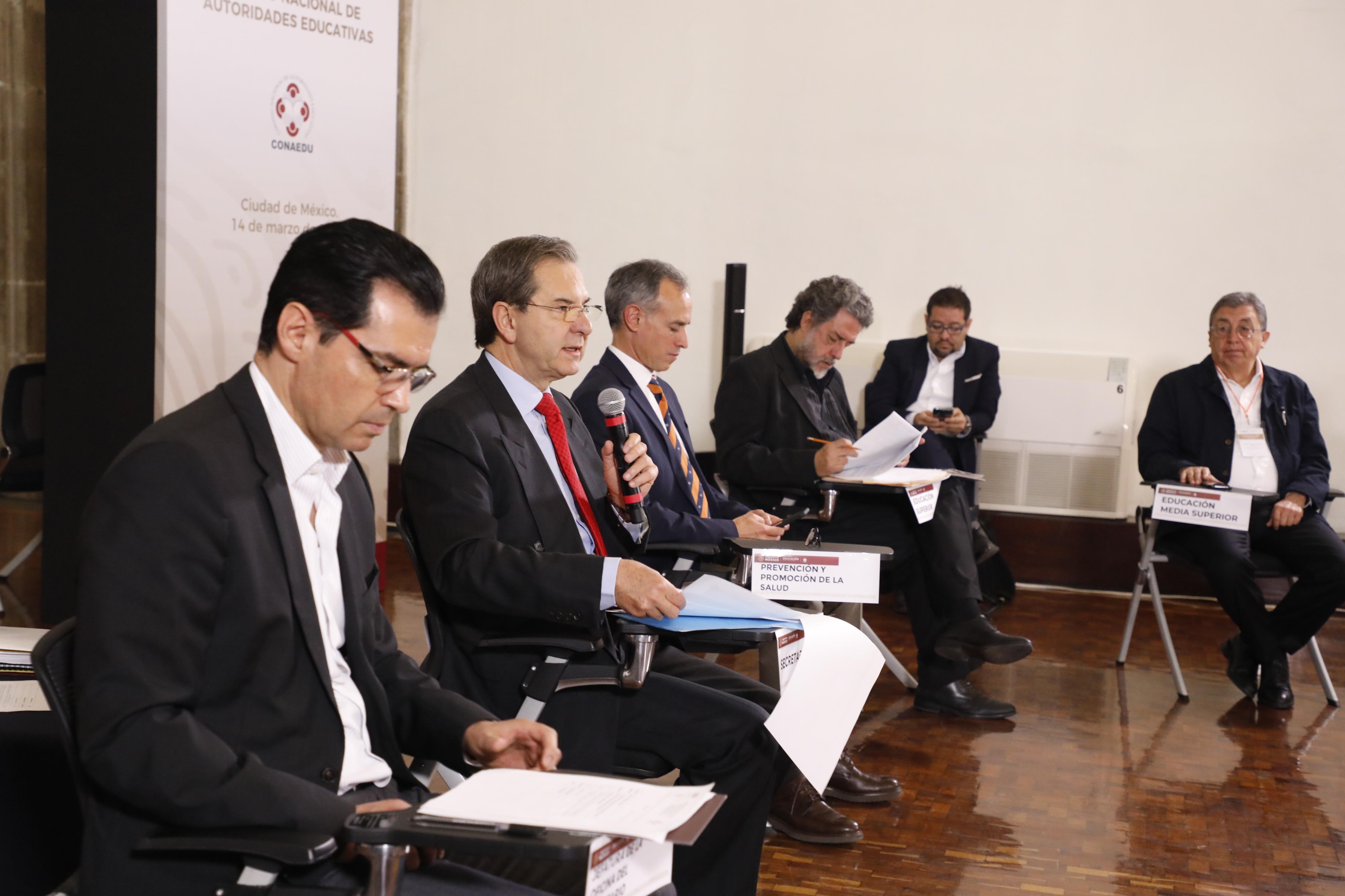 Presentan Salud y SEP medidas de prevención para el sector educativo nacional por COVID-19