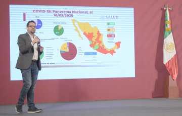 Conferencia de prensa. Informe diario sobre coronavirus COVID-19 en México