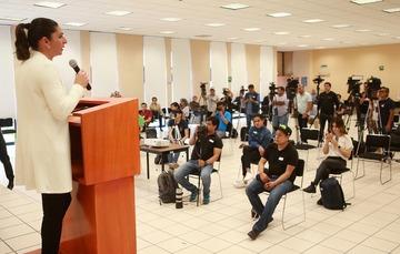 La directora general, Ana Guevara, informó sobre las medidas precautorias que está tomando la CONADE respecto al coronavirus.