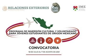 Programa de Inmersión Cultural y Voluntariado para Jóvenes Estudiantes de Origen Mexicano 2020