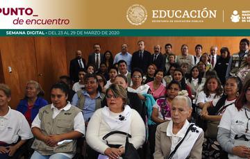 Reafirman compromiso educativo Alcaldía Iztacalco