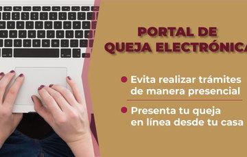Portal de Queja Electrónica