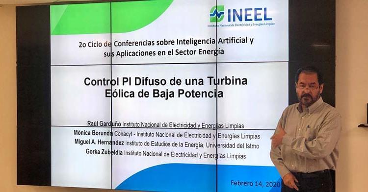 El INEEL contribuye con el sector energético al compartir la experiencia de su personal de investigación
