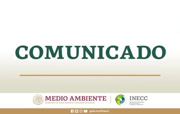 Comunicado de ampliación del periodo de suspensión de labores presenciales en el INECC por la contingencia sanitaria