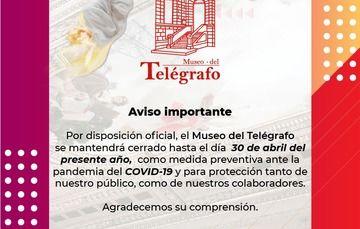El museo del Telégrafo permanecerá cerrado