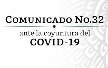 Comunicado No. 032 CNSF